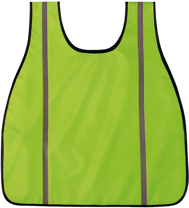 Neon Green High Visibility Oxford Safety Vest 30545d2d056