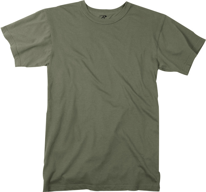 More Views. Foliage Green Moisture Wicking Plain Solid Military T-Shirt 3181d6f1c25