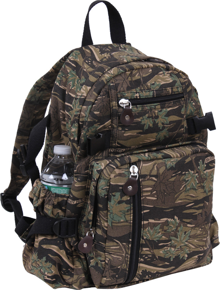 Smokey Branch Camouflage Vintage Military Canvas Mini Backpack 7381c90fb1c