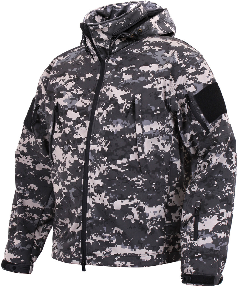 e8df9f56f More Views. Subdued Urban Digital Camo Military Special Operations Tactical  Soft Shell Jacket