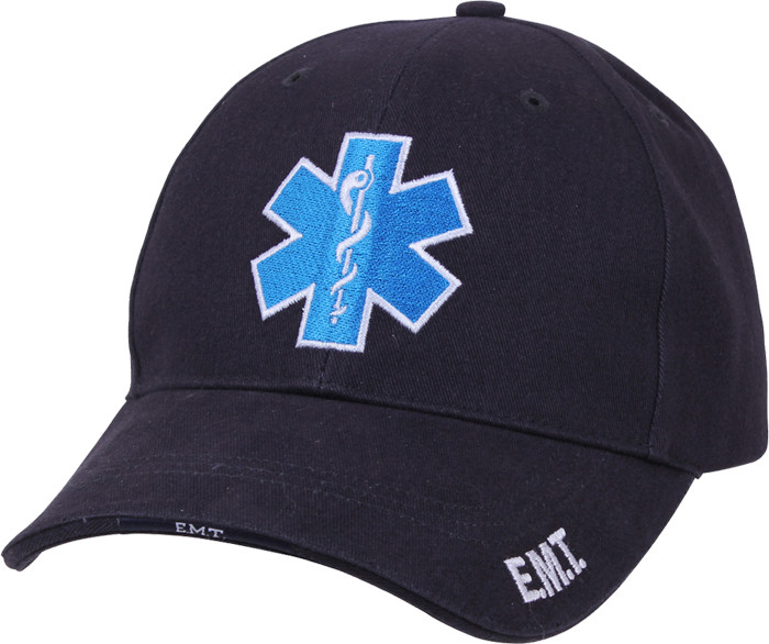 315744e8879 More Views. Navy Blue Emergency Star Of Life Deluxe Low Profile Adjustable  Cap ...