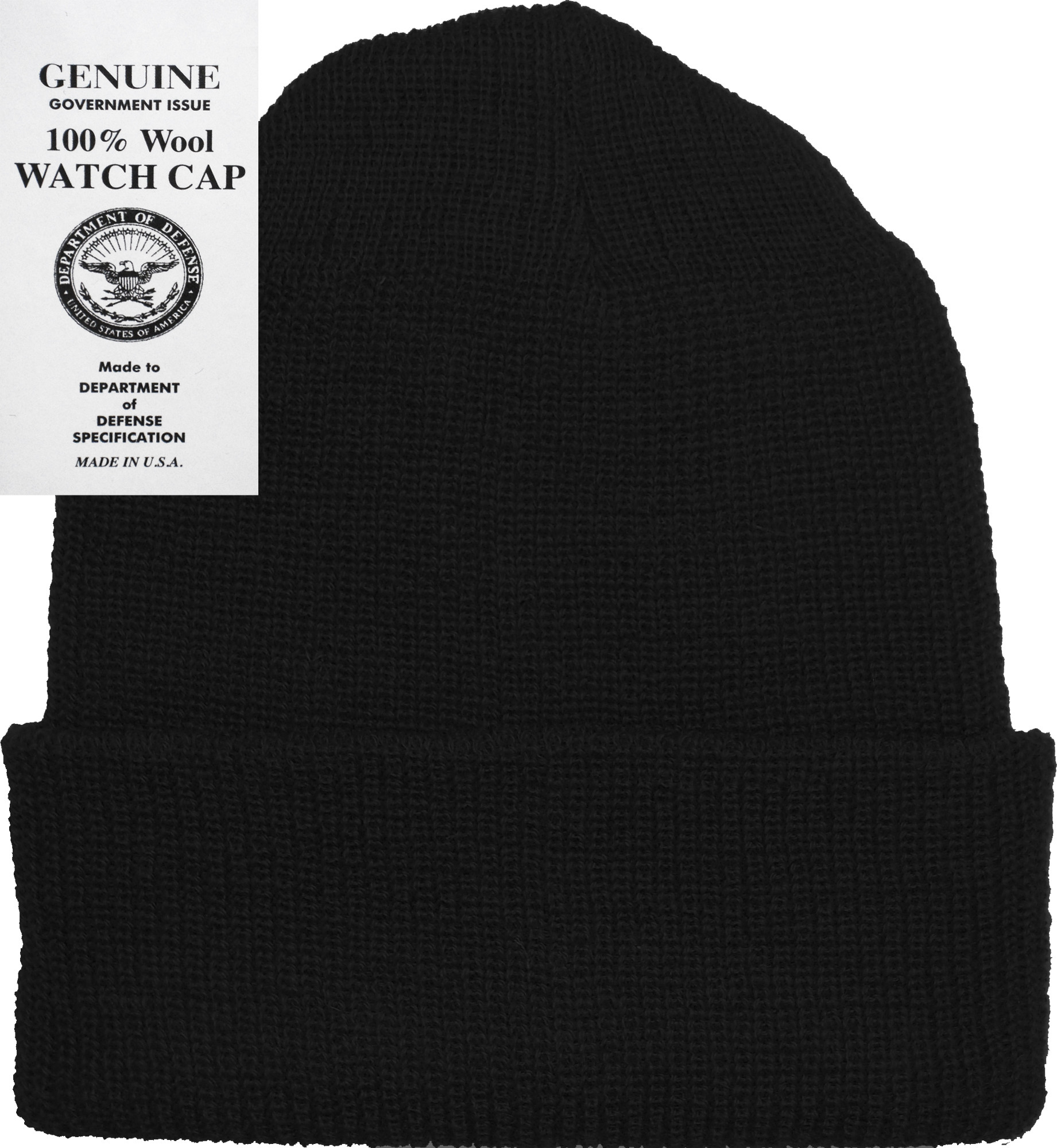Military Genuine GI Winter USN Warm Wool Hat Watch Cap d94fabe58