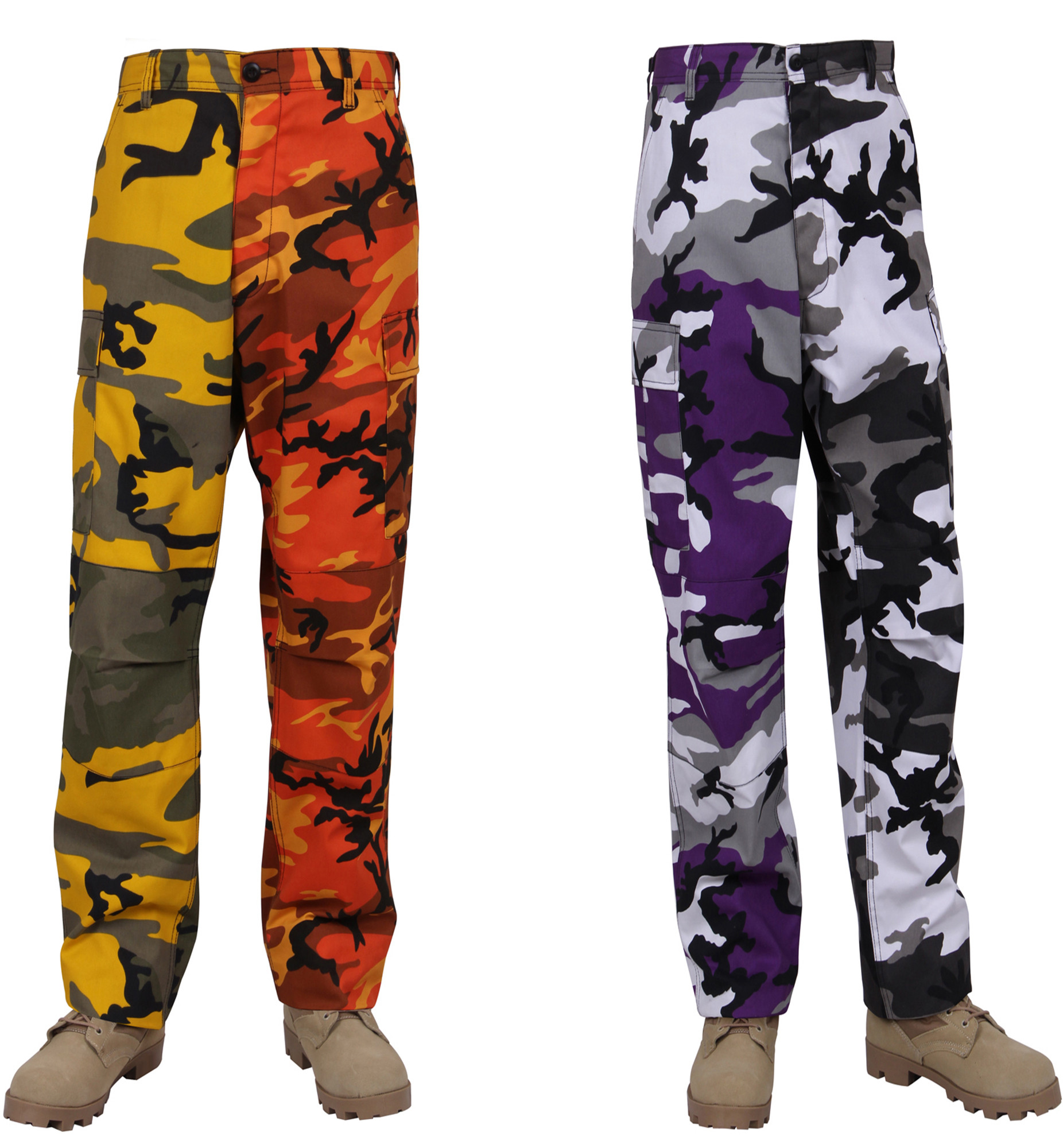 Two-Tone Camo BDU Pants cddca4df18a