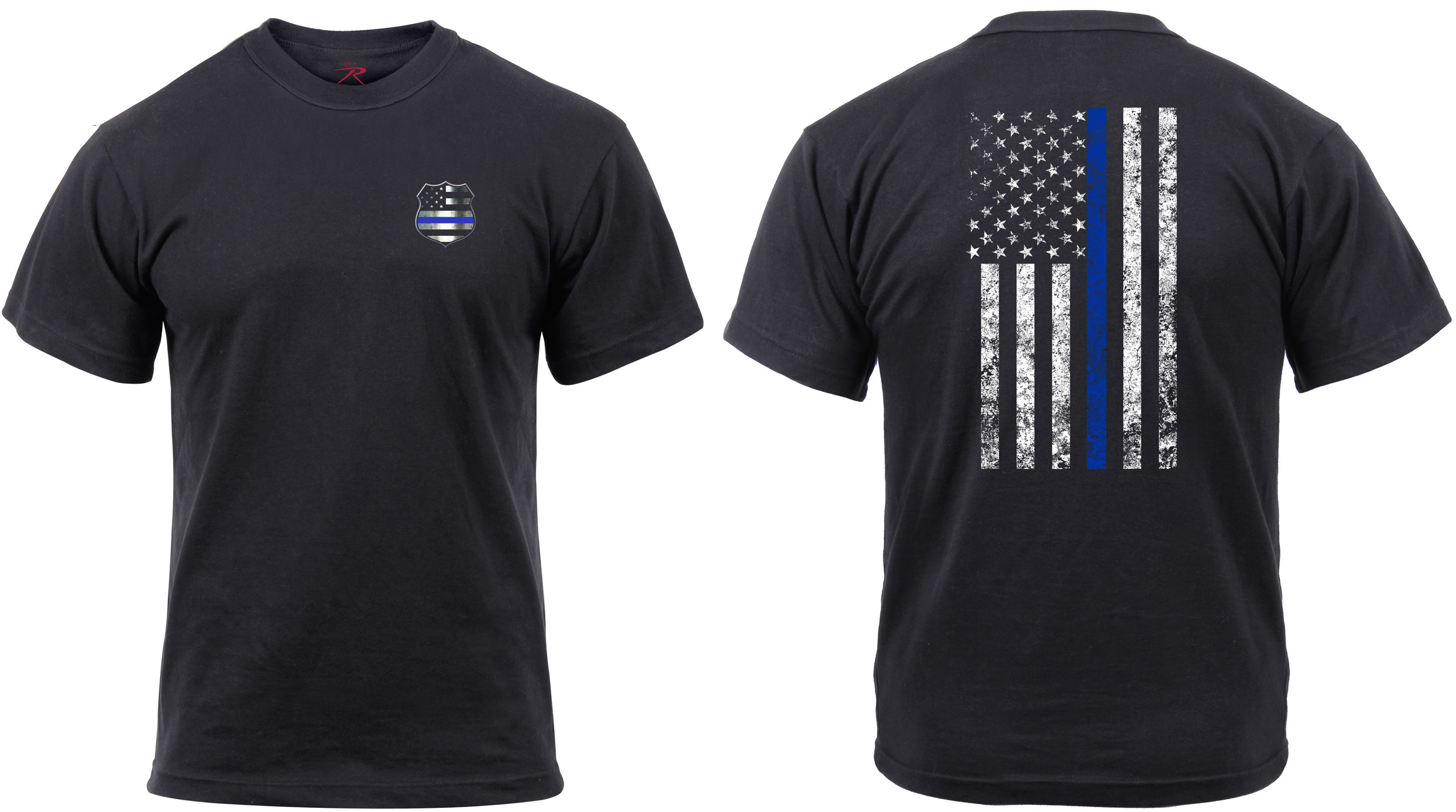 Thin Blue Line Shield T-Shirt 3f48b35de23