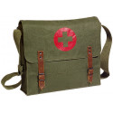 Olive Drab NATO Medic Red Cross Canvas Shoulder Bag
