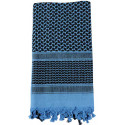 Blue & Black Shemagh Heavyweight Arab Tactical Desert Keffiyeh Scarf