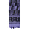 Purple Shemagh Heavyweight Arab Tactical Desert Keffiyeh Scarf