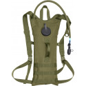 Olive Drab MOLLE 3-Liter Backstrap Hydration System Backpack