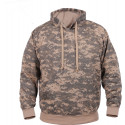 ACU Digital Camouflage Military Hooded Sweatshirt