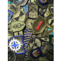Assorted GI Subdued Military Patches