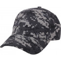 Subdued Urban Digital Camouflage Supreme Low Profile Adjustable Cap