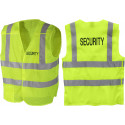 Safety Green Hi-Visibility 5 Point Tactical Breakaway Protective SECURITY Safety Vest