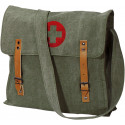 Olive Drab Vintage Medic Red Cross Canvas Shoulder Bag