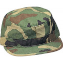 Kids Woodland Camouflage Military Patrol Fatigue Cap