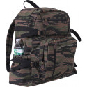 Tiger Stripe Camouflage Vintage Military Canvas Jumbo Backpack