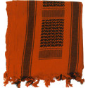 Blaze Orange Shemagh Heavyweight Arab Tactical Desert Keffiyeh Scarf