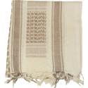 Sand & Tan Shemagh Heavyweight Arab Tactical Desert Keffiyeh Scarf