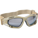 Coyote Brown Vented Anti-Fog Enhanced Tactical Goggles