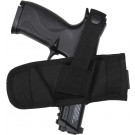 Black Tactical Law Enforcement Ambidextrous Belt Slider Gun Holster