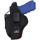 Black Ambidextrous Tactical Belt Handgun Holster