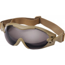 Coyote Brown Tactical SWAT Tec Single Lens Enhanced Goggles
