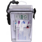 "Clear Plastic Waterproof Emergency EMT EMS First Aid Kit 6"" x 4 1/8"""
