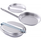 Aluminum 2 Piece Military Mess Kit