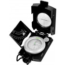 Black Zinc Deluxe Inclination Scale Fluorescent Marching Compass