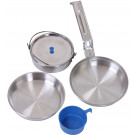 Aluminum Deluxe 5 Piece Military Mess Kit