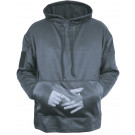 Gun Metal Grey Concealed Carry Tactical Hooded Sweatshirt