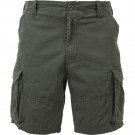 Olive Drab Vintage Military Paratrooper Cargo Shorts