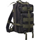 Black & Olive Drab Military MOLLE Medium Transport Assault Pack Backpack