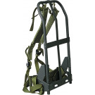 Black Military Alice Pack Frame With Olive Drab Attachments