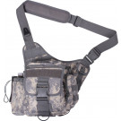 ACU Digital Camouflage Military MOLLE Advanced Tactical Shoulder Bag