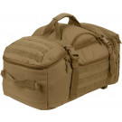 Coyote Brown Multi Functional Convertible 3 In 1 Mission Duffle Bag