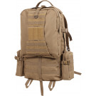 Coyote Brown Military MOLLE Conceal Carry Global Tactical Assault Pack