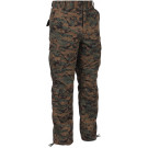 Woodland Digital Camouflage Vintage Military Paratrooper BDU Pants