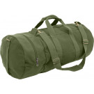 Olive Drab Double-Ender Canvas Sports Duffle Shoulder Bag