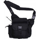 Black Jumbo Military MOLLE Advanced Tactical Shoulder Bag