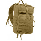 Coyote Brown Military Tactisling Transport Shoulder Backpack