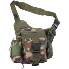 Woodland Camouflage Military MOLLE Advanced Tactical Shoulder Bag
