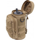 Coyote Brown MOLLE Travel Water Bottle Carry Pouch
