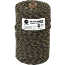 Woodland Camouflage 550LB Type III Nylon Paracord Rope Tube 300'