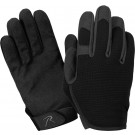 Black Military Ultra-Lightweight High Performance Work Gloves