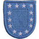 Light Blue Inspection Ready US Army Beret Military Flash Patch US Made
