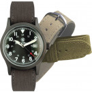 Black Military Smith & Wesson Tactical Water Resistant Watch Set