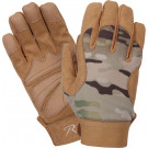 Multi Cam Military Leather Mechanics Gloves