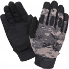 Subdued Urban Digital Camouflage Military Lightweight Tactical All Purpose Duty Gloves