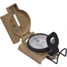 Coyote Brown Aluminum Phospherescent Lensatic Compass