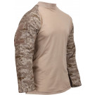 Desert Digital CamouflageTactical Airsoft Combat Shirt
